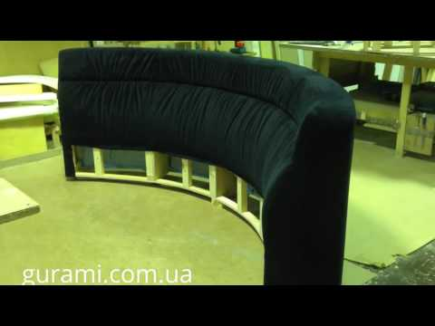 Rounded sofa