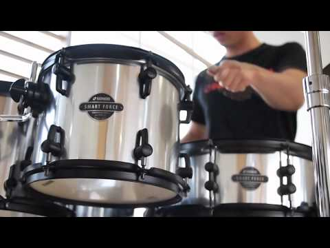SONOR Smart Force Drum Kit - Sound Test / Recording by 엄스뮤직(eumsmusic) / Support by 드럼창고(Drumgarage)