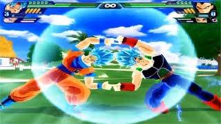 Dragon Ball Z Budokai Tenkaichi 3 - Bardock SSG Blue And Goku SSG Blue Fusion VS MODS ALEATORIOS #6