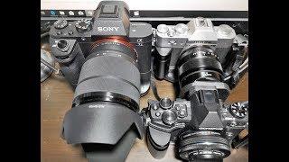 4 เหตุผล เลือกกล้อง  mirrorless | SONY A7ii vs FUJI X-T20 vs OLYMPUS EM5ii