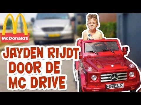JAYDEN (6) RIJDT DOOR DE MAC-DRIVE !! - KOETLIFE VLOG #806