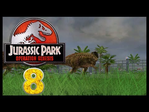 Jurassic Park: Operation Genesis - Episode 8 - Let's See Dinosaurs!