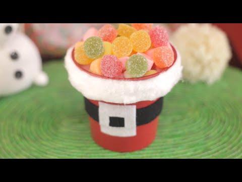 Centros de mesa dulces para navidad imujerhogar youtube - Mesa de navidad ...