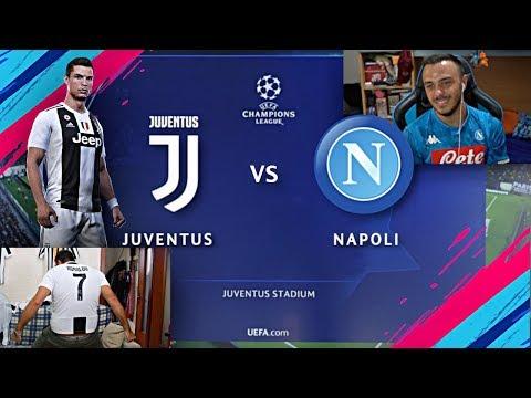 JUVENTUS vs NAPOLI SU FIFA 19!!!