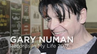 Gary Numan on Records In My Life 2017 (full interview)