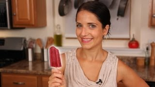 Homemade Yogurt Popsicle Recipe - Laura Vitale - Laura In The Kitchen Episode 432
