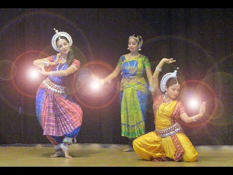 Indian classical dance in Auroville 29 11 2014