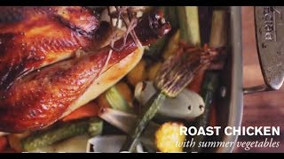 Roast Chicken With Summer Vegetables | Farm To Table Family | Pbs Parents