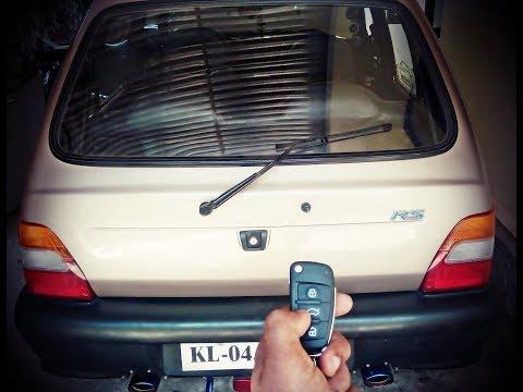 Maruti 800 || Remote Tail Gate || Opening