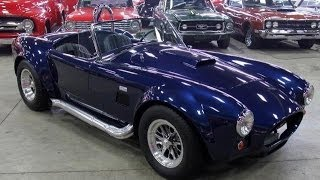1965 Shelby Cobra Replica Test Drive Classic Muscle Car For Sale In Mi Vanguard Motor Sales