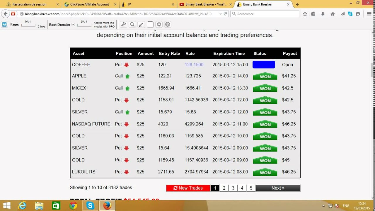 Binary options trading live signals robot 2018 super bowls