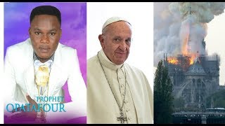 OPATAFOUR (POPE AND 666, NOTRE DAME FIRE OUTBREAK) 21/4/19