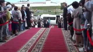 Красная дорожка IX Казанского международного фестиваля мусульманского кино