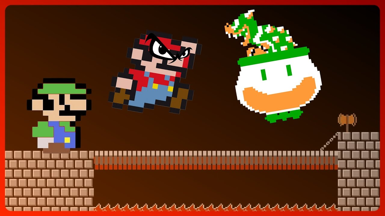 EPIC CHALLENGES with Mario and Luigi!
