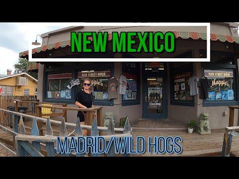 RV Adventure 2021: New Mexico : Taos, Albuquerque, Madrid.
