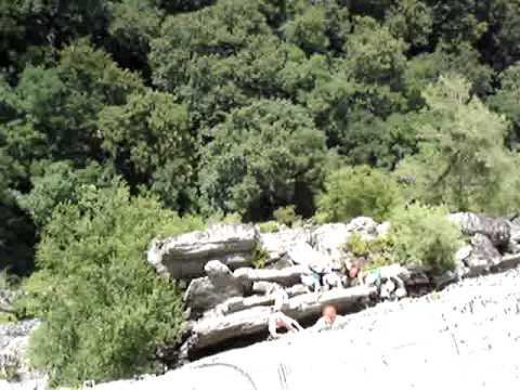 Via Ferrata Head Wall, Nelson Rocks, West Virginia