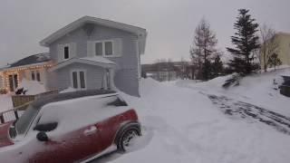 Newfoundland Snow Storm Jan 2017