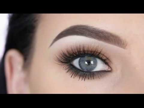 Как красиво накрасить глаза голубые