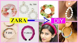 ZARA, H&M जैसी  DIY FASHION ACCESSORIES |#Teenagers #Anaysa #DIYQueen