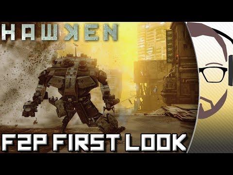 Hawken - Mech First Person Shooter - F2P First Look