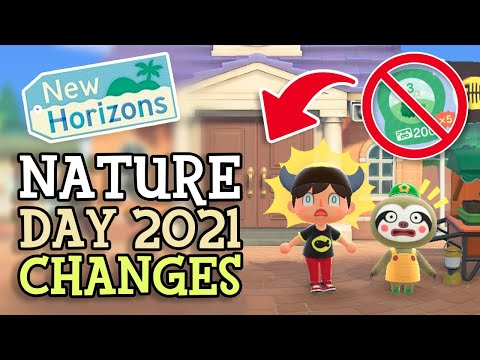 Animal Crossing New Horizons: NATURE DAY 2021 CHANGES (Season Event Details) & AC History Comparison |