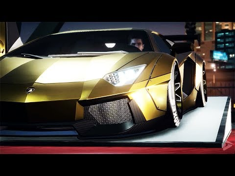 NEED FOR SPEED PAYBACK Gold Plated Lamborghini Car Heist