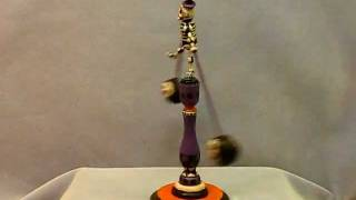 Vintage Halloween Skeleton Balance Toy