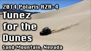 Tunez for the Dunez - Polaris RZR-4 900 - Sand Mountain, Nevada + Bonus Injury