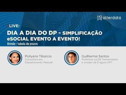 Dia a dia do DP: Simplificação eSocial evento a evento!