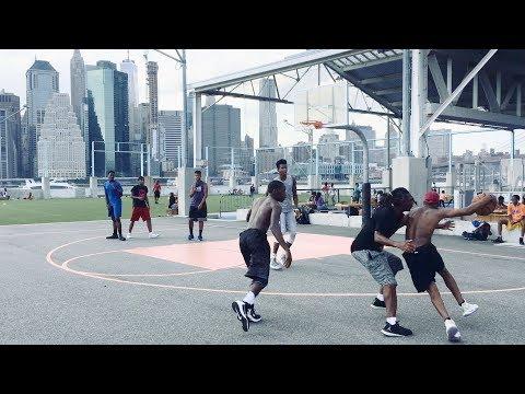 Brooklyn Bridge Park Pier 2  Basketball - 3D Audio