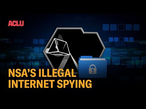 NSA's Illegal Internet Spying