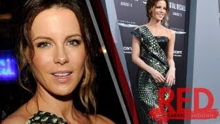 Kate Beckinsale Total Recall Premiere: The Sexy Snakeskin Dress!
