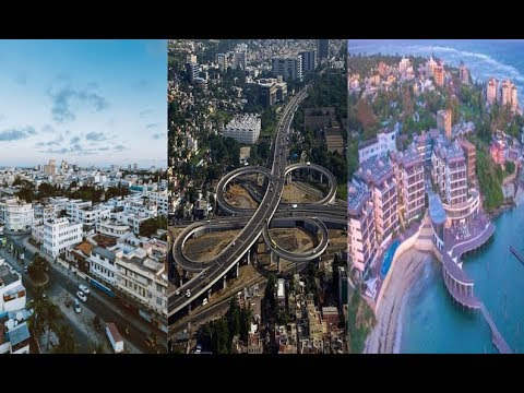 Spectacular! Aerial view of New look Mombasa (Blue city)2018