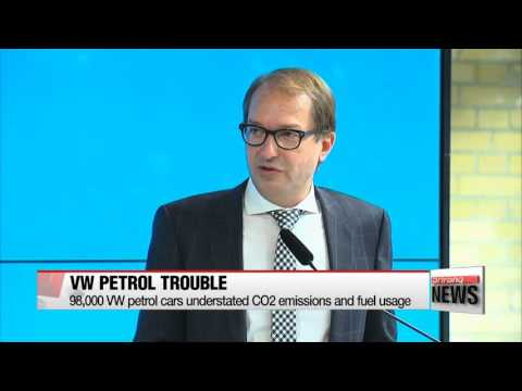 Germany says 98,000 VW petrol cars understated CO2 emissions and fuel usage   폴크