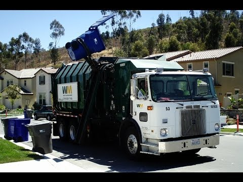 WM Waste Management - Garbage Trucks Travel Video