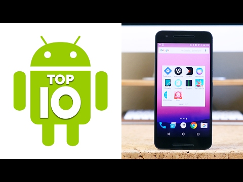 Top 10 Android Apps of January 2017