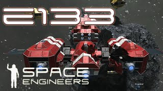 Space Engineers Multiplayer - E133 - Glass Ships