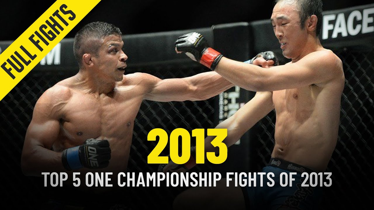 Top 5 ONE Championship Fights Of 2013