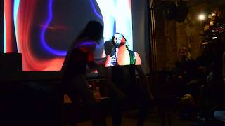 Tree of Life 05 - Piano / Dance / Visuals Improv Collab (Synaesthetic Web, Berlin, 28 Nov 2019)