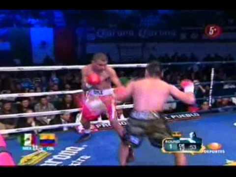"Miguel ""Micky"" Roman Vs MAngel Antonio Priolo Round 1"