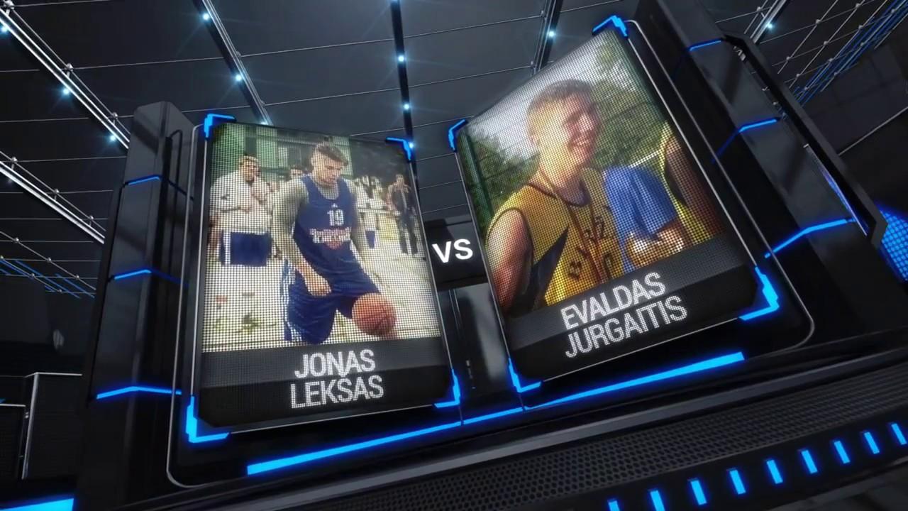 TOPsport Ghetto King 1x1: Jonas Lekšas vs Evaldas Jurgaitis