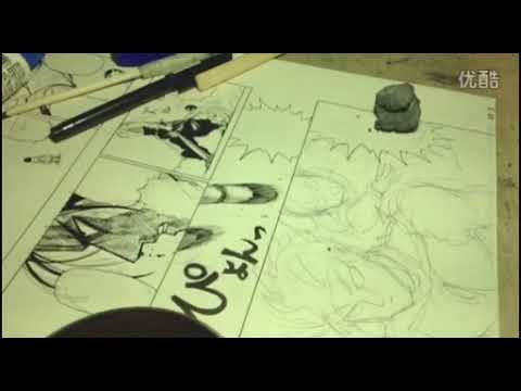 Yusuke Murata - Live Drawing #41 Metal-Bat !!