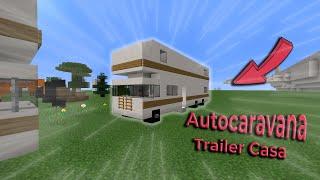 Minecraft-Como fazer uma Auto-Caravana (trailer casa) !!!!!