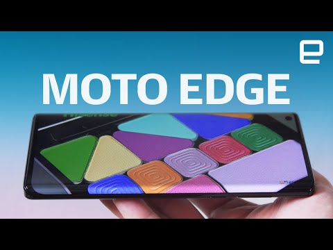 Motorola Edge hands-on: A solid 5G phone with a catch