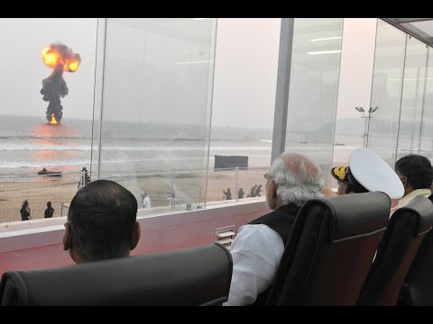 PM Shri Narendra Modi at International Fleet Review, Visakha
