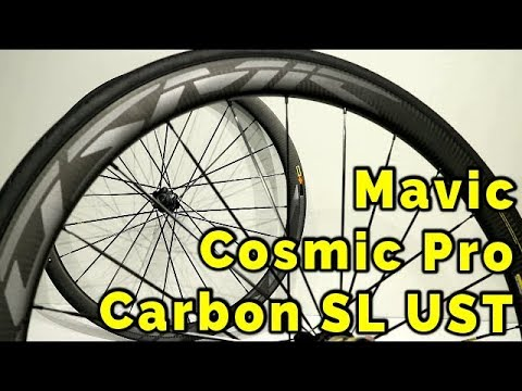 42a279eab70 Mavic Cosmic Pro Carbon SL UST Disc Road Wheelset - Everything you need to  know
