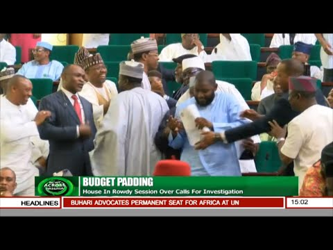 News Across Nigeria: House In Rowdy Session Over Calls For Investigation