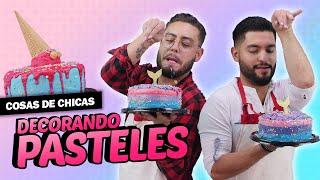 Decoración de pasteles   Cosas de chicas: Episodio 44
