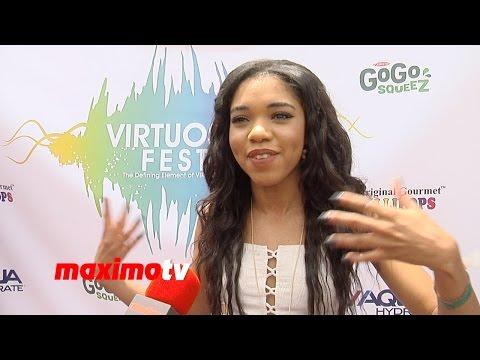 Teala Dunn Interview | VIRTUOSO FEST 2014 | Avalon Hollywood