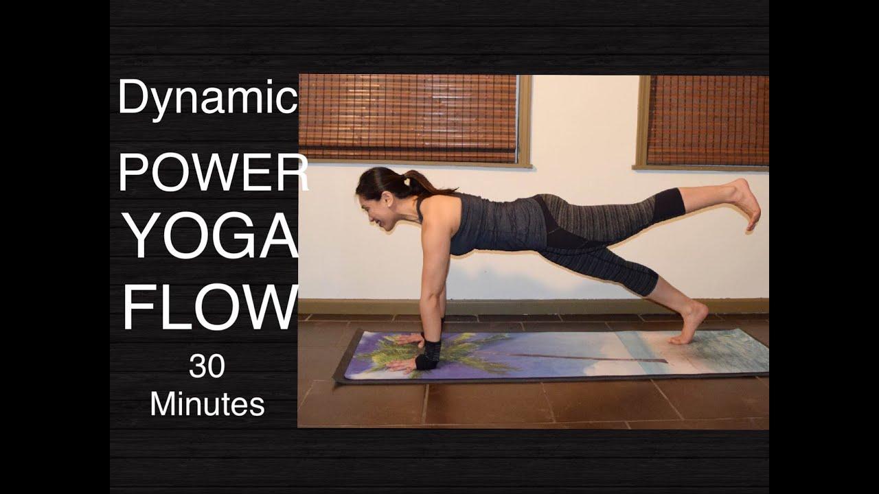 Dynamic Power Vinyasa Flow Yoga Workout for Total Body ...